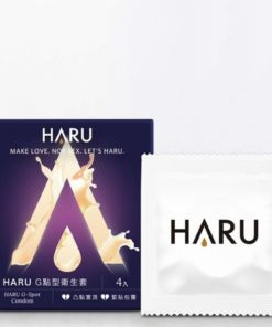 HARU-G-SPOT-凸點環形型保險套-4片裝