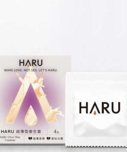 HARU-Ultra-Thin-超薄型安全套-4片裝